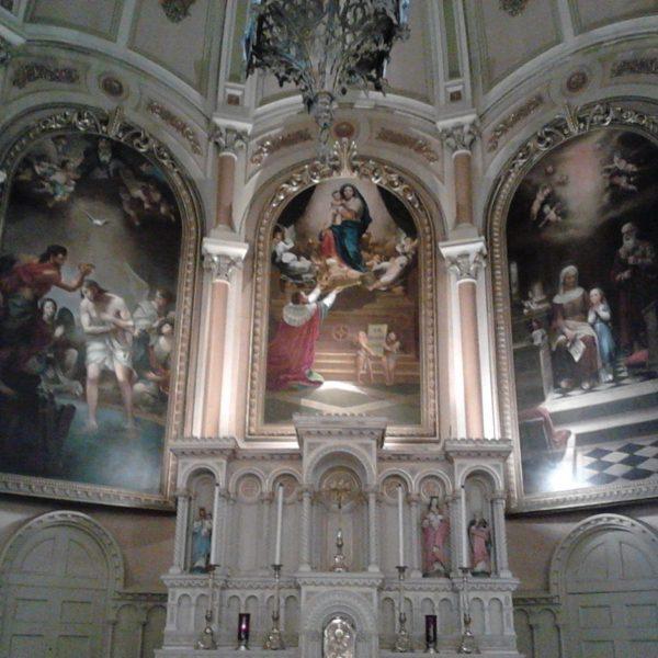 Église Saint-Henri, oeuvres