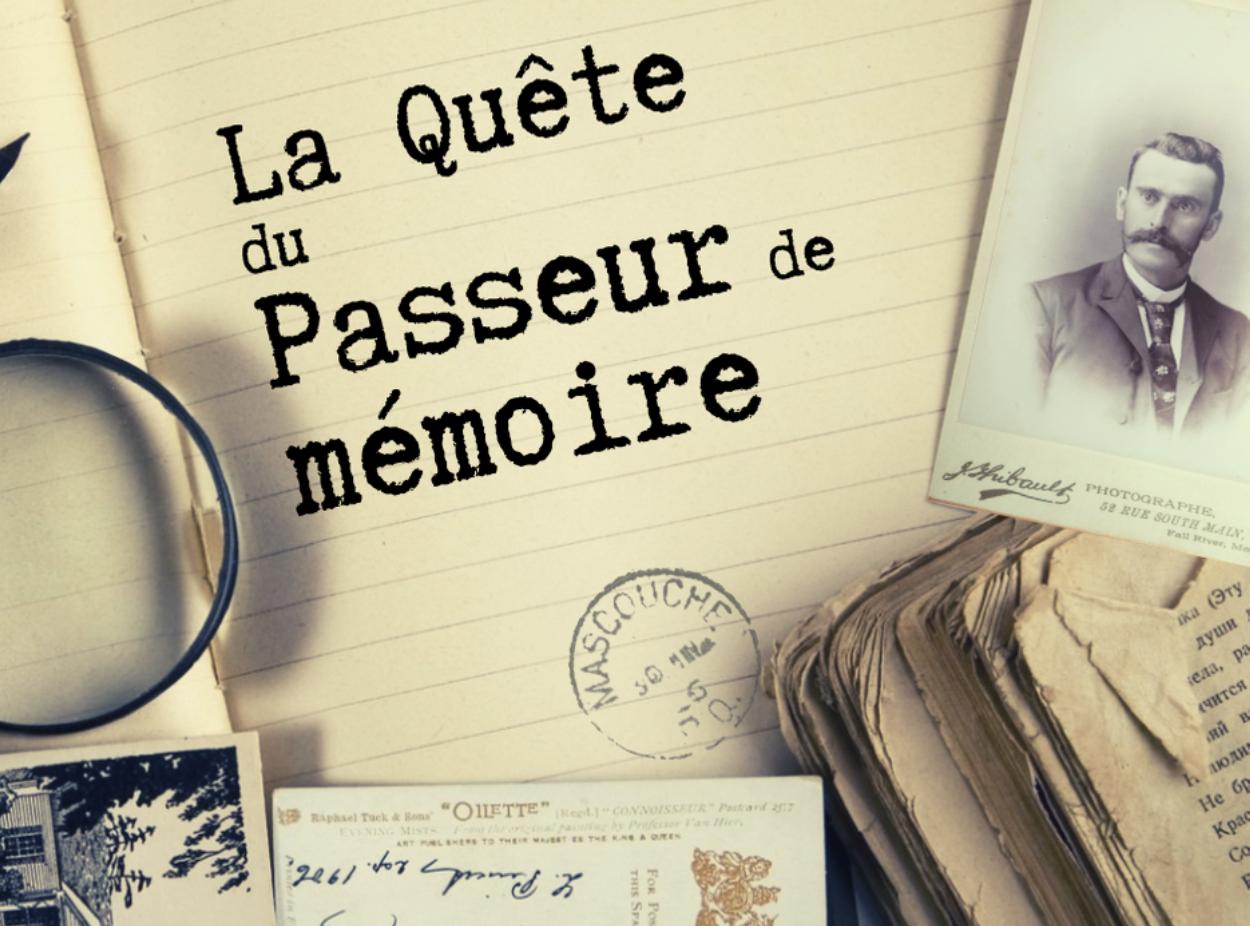 La quête du passeur de mémoire