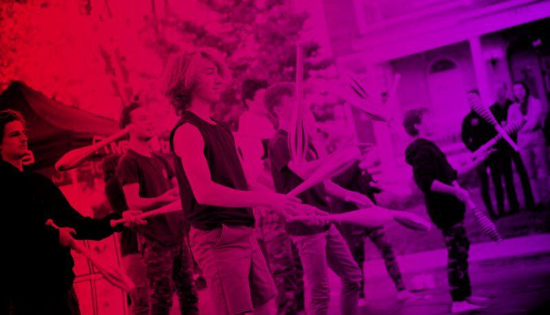 Volet Cirkana | École de cirque | Spectacle