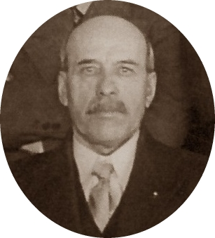 Joseph Dugas, secrétaire-gérant Caisse populaire de Mascouche, 1942-1943 Collection Simone Patenaude-Boivin