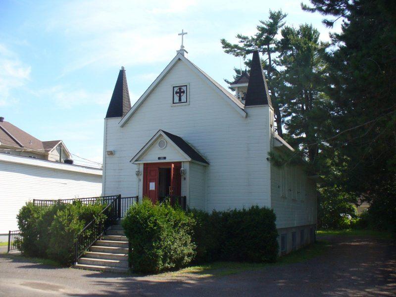 L'église anglicane Grace en 2015. Collection Claude Martel