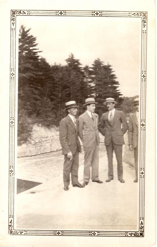 Henri, Zénon et Édouard Corbeil