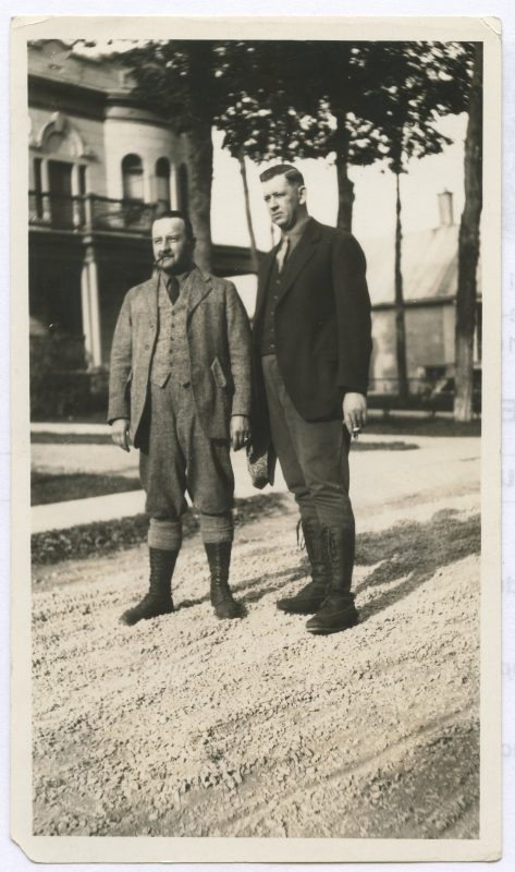 Octavien Renaud et Capitaine Hébert